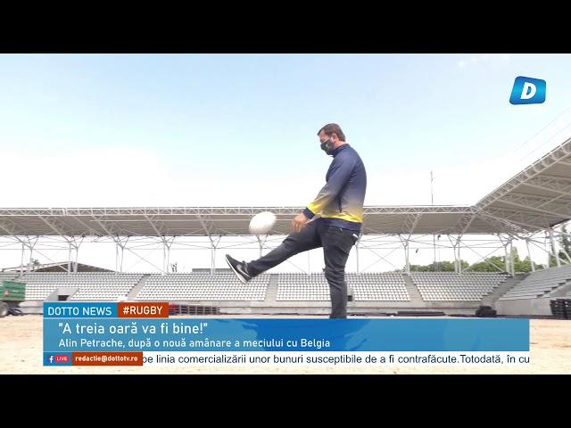 Alin Petrache, după o nouă amânare a meciului cu Belgia