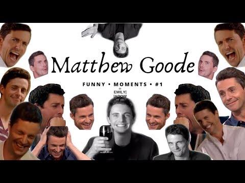 Matthew Goode Funny Moments #1