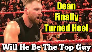 WWE Monday Night Raw 10/22/18 Review - DEAN AMBROSE TURNED HEEL!?