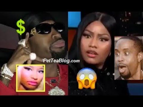 Safaree Says Nicki Minaj Almost Took him Out & made $30k in 1 Day Off her 😲