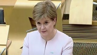 video: Politics latest news:Lord Frost hints at changes to 'unsustainable' Northern Ireland protocol - watch Nicola Sturgeon live