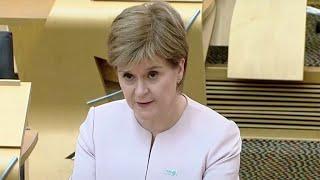 video: Politics latest news: Nicola Sturgeon delays final stage of Scotland's lockdown roadmap - watch live