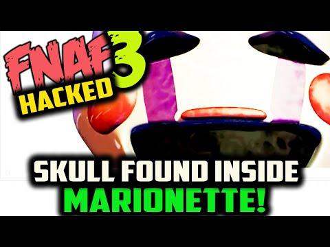SKULL INSIDE MARIONETTE FOUND! FNAF 3 MARIONETTE CONFIRMED | Five Nights at Freddy's 3 HIDDEN IMAGE