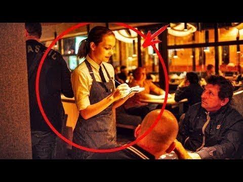 Millionär lacht über arme Familie in einem teuren Restaurant...
