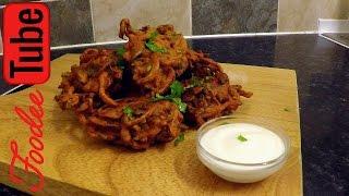 How to make Onion Bhaji (Original Recipe)