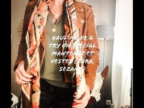 HAUL MODE & TRY ON SPECIAL MANTEAUX ET VESTES (ZARA, SEZANE)