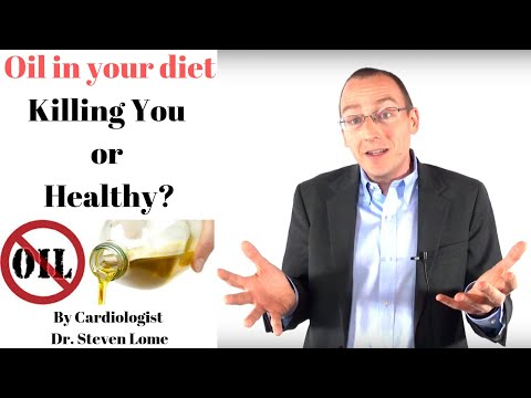 Oil Healthy or Harmful? Olive + Coconut Oil in the diet Benefits vs Risks by a heart doctor