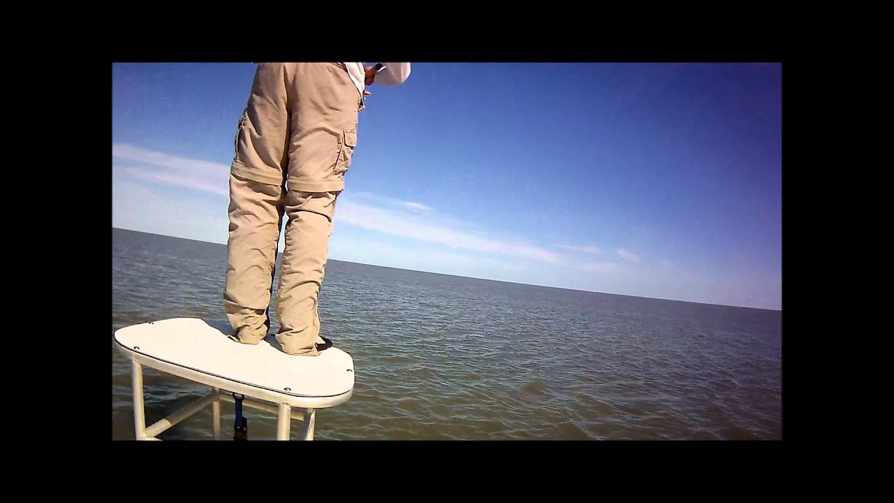 Arroyo city flyfishing port mansfield east cut red fishing youtube for Arroyo city fishing