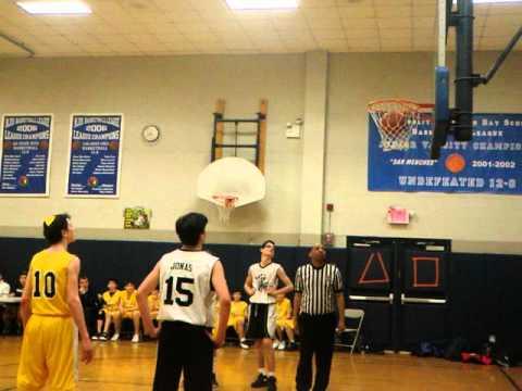 Ramaz Rams middle school boys basketball defeats SAR