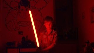Star Wars Lightsaber in the Dark