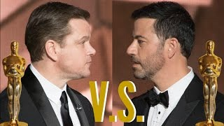 Jimmy Kimmel and Matt Damon Oscars 2017 Feud Compilation