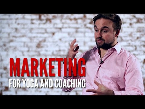 Marketing for yoga and coaching
