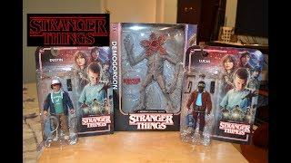 McFarlane Toys STRANGER THINGS DUSTIN, LUCAS, & DEMOGORGON FIGURE unboxing & review!