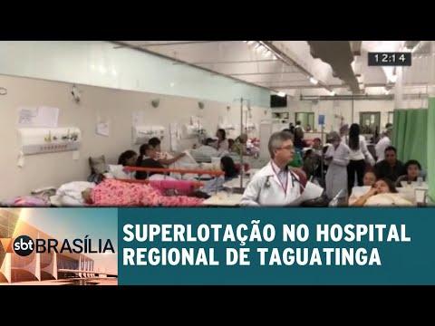 Ligação direta: a superlotação no Hospital Regional de Taguatinga | SBT Brasília 11/09/2018