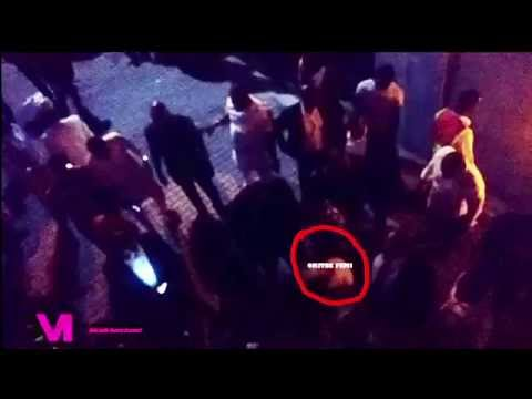 Oritse Femi Beaten Up For Stabbing A Bouncer In...