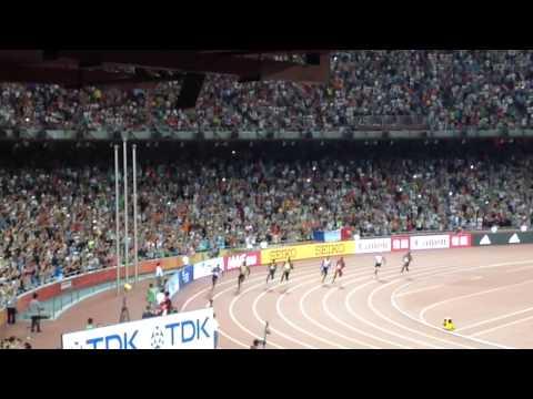 世界陸上北京 男子200m決勝 2015/8/27