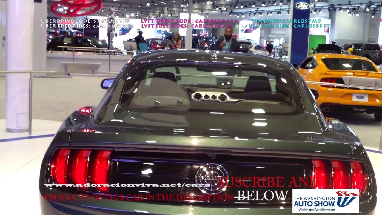 2019 Ford Mustang Dark Green Washington Dc Auto Show 2018 Youtube