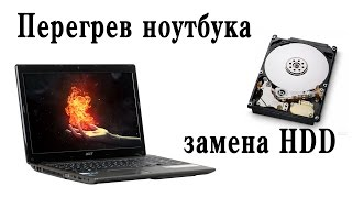 видео Ремонт жесткого диска ноутбука Acer Aspire 5750