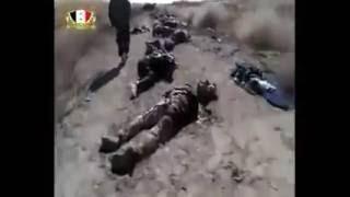 كمين اشتركت فيه قوات الدعم الشعبي للجيش العربي السوري مع قوات حزب الله
