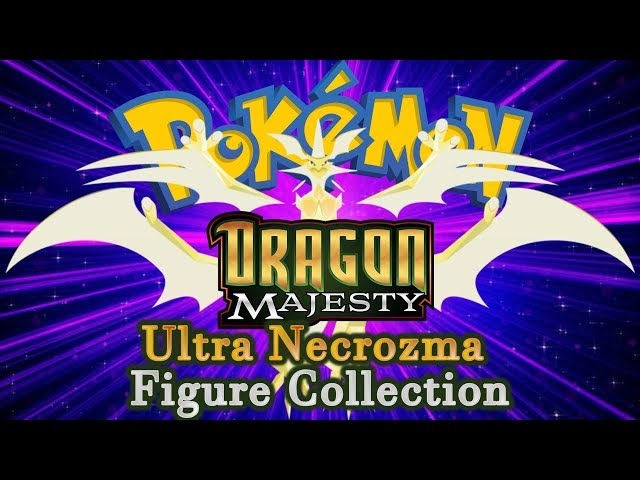 EARLY Unboxing/Opening! Dragon Majesty Ultra Necrozma GX Figure Collection Box