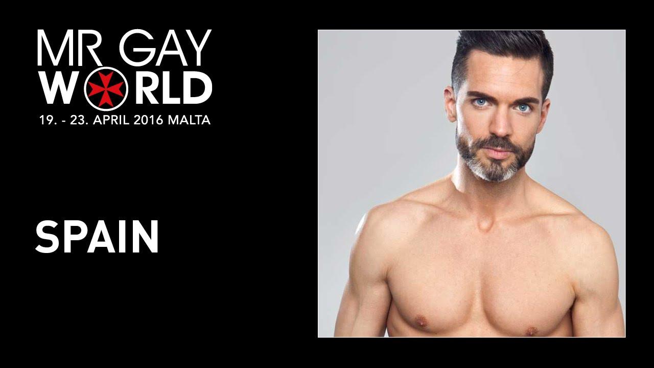 Roger Gosalbez, ganador de la pasada edición del certamen Mr Gay Worlrd 2016