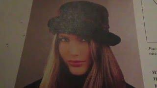 Женская шляпа из овчины под велюр.(, 2016-03-09T14:30:06.000Z)