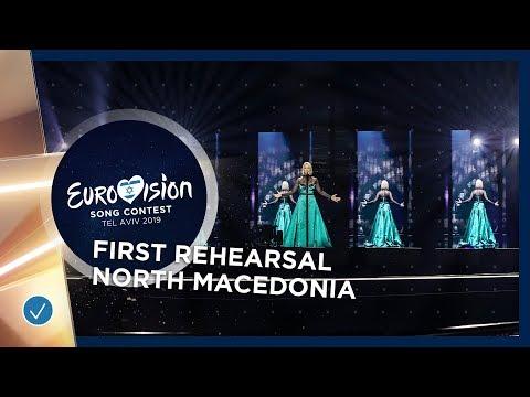 North Macedonia 🇲🇰 - Tamara Todevska - Proud - First Rehearsal - Eurovision 2019