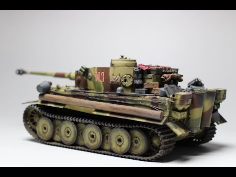 Weathering & Painting Border 1/35 Tiger 1 Early Production