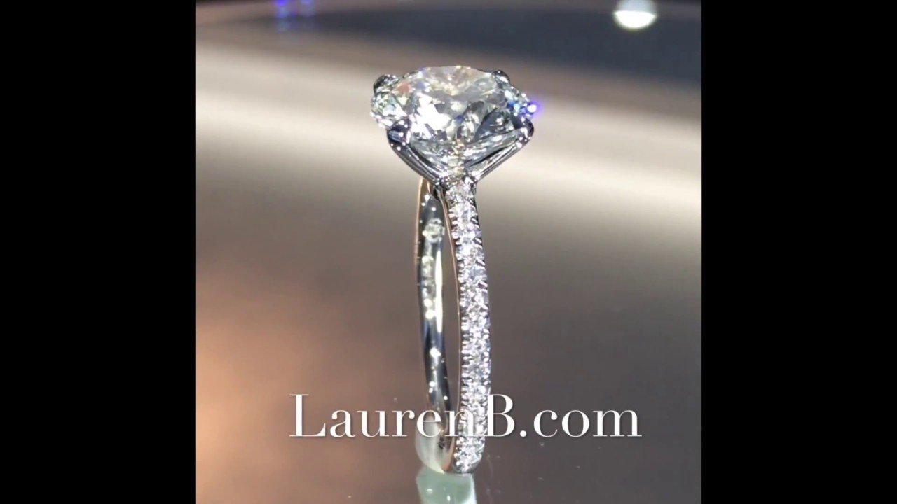 watch platinum diamond tiffany setting in ring classic prongs carat ct solitaire
