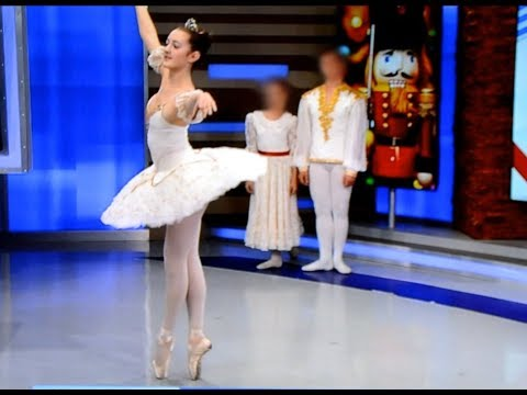 Julia was on 8 news Now, Las Vegas for the Nutcracker Ballet Promo