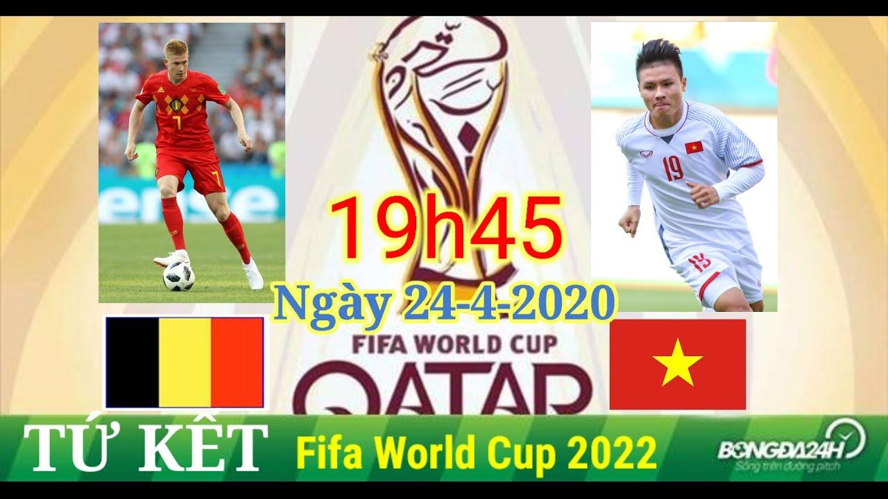 Pes 2020 hành trình chính phục FIFA WORLD CUP 2022 Bán kết vs BELGIUM