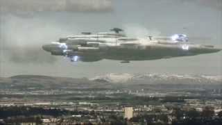 UFO over Glasgow Airport