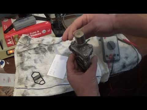 Testing a Vtec solenoid