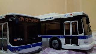 My MTA NYCT Bus Models [Toys]
