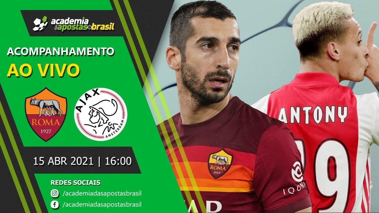 Roma vs Ajax ao vivo - Liga Europa
