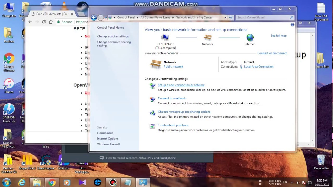 How to setup a Free Unlimited VPN/Hide IP *100% Working* Windows 7/8/10