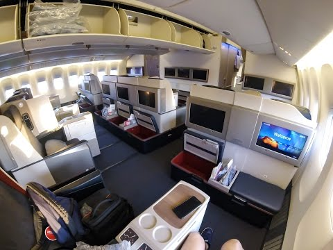 Turkish Airlines B777-300ER Business Class Istanbul- New York