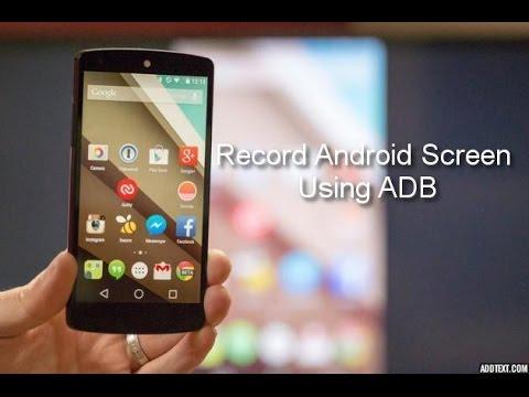 Android Screen Recording using ADB on Linux (Ubuntu)