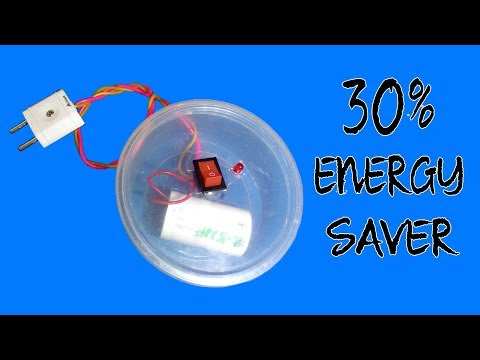 Make a Power Saving Device at Home (Electricity saver)