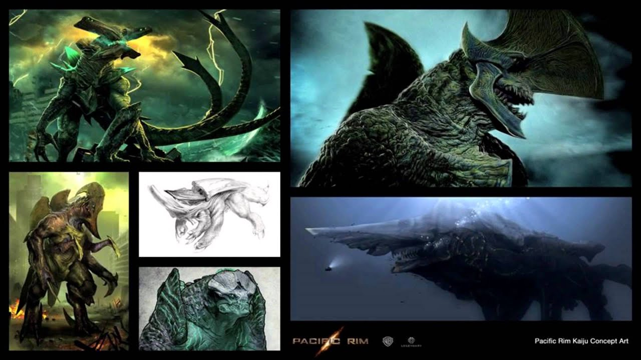 pacific rim art & concept - YouTube Pacific Rim Concept Art
