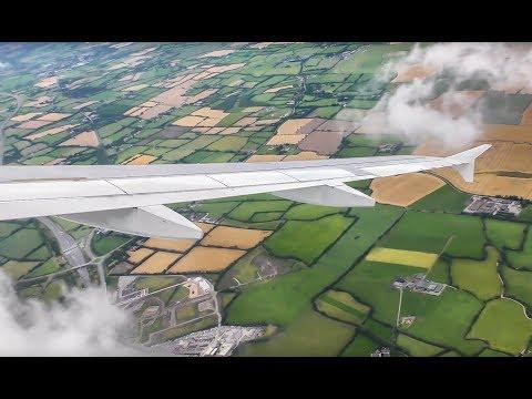 Aer Lingus A320 EI-DEN Dublin-Amsterdam FULL FLIGHT (4K)