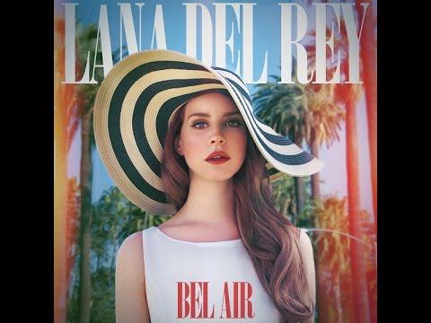 Lana Del Rey - Bel Air (Official Instrumental + Karaoke) [Lyrics]