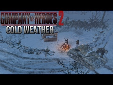 Company of Heroes 2 - Cold Weather on General - Theater of War Gameplay 1/2