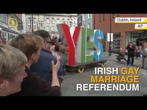 Irish Gay Marriage Referendum Sees High Voter Turnout