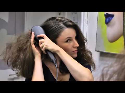 DAFNI's Co Founder Sharon Rabi Uses The DAFNI Brush