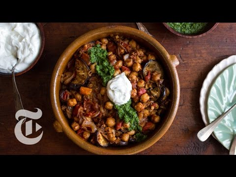 Fried Eggplant With Chickpeas | Melissa Clark Recipes  | The New York Times
