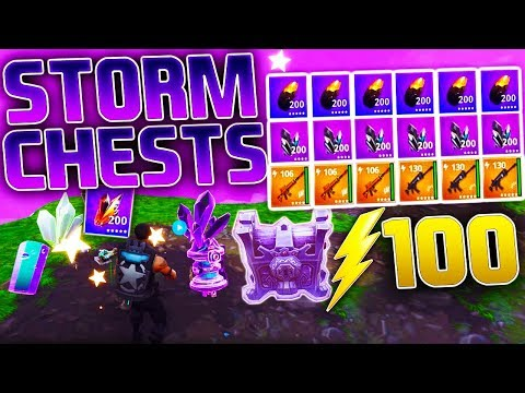 *INSANE* LOOT From STORM Chests! | BEST Loot Farming Method! | Fortnite Save the World