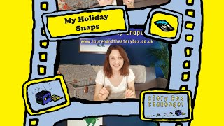 My Holiday Snaps - Fun Storytelling Game for Children - Story Box Challenge