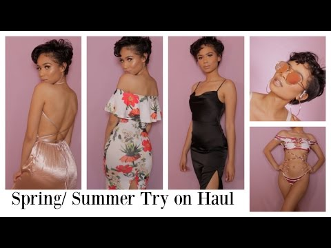 PACK WITH ME TO JAMAICA | Spring & Summer Try on Clothing Haul