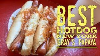 Best Hotdog New York: Gray's Papaya 72nd Street Recession Special Frankfurters